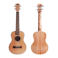 23 Concert /21 Soprano Mahogany wood Ukulele Mini Guitar with Ukulele Kit