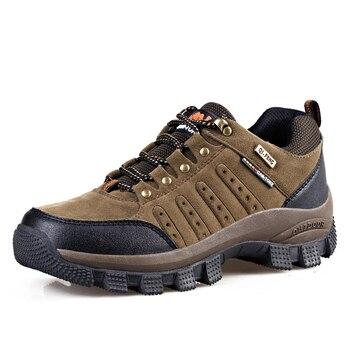 Vancat 2019 New Brand spring Fashion Outdoors sneakers Waterproof Men's shoes Mens Combat Desert Casual Shoes Plus Size 36-47 1