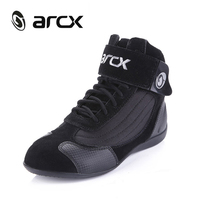 ARCX Motorcycle Riding Breathable Unisex Boots Moto Protection Motorbike Biker Touring Leather Boots Shoes Men Women Summer