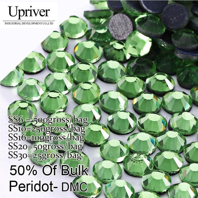 Bulk Packing Shiny Stones Flatback Best Quality SS6 SS10 SS16 SS20 SS30  Peridont Hotfix Rhinestones e92e72be149c