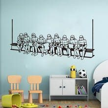 New arrival Storm trooper Star Wars Wall Decal Kids Room Sticker home decoration Waterproof wall stickers