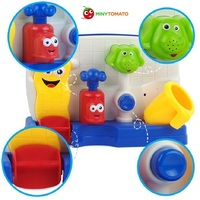 Free Shipping Safe and Nontoxic Baby Bath Toys Wheel Type And Water Spray Type Toys Baby Toy Christmas Gift