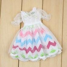 Neo Blythe Doll Colorful Lace Dress
