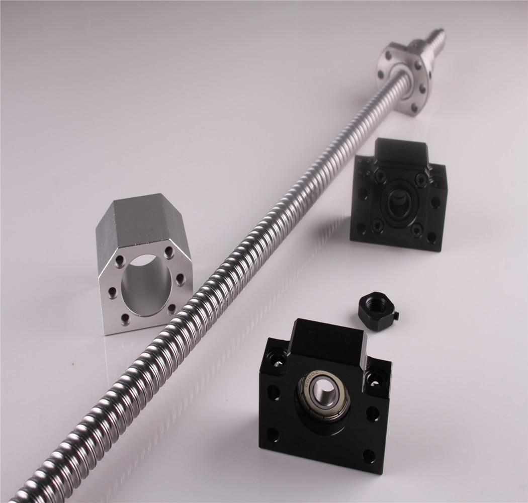 Здесь можно купить  Ballscrew SFU1605 L 1050mm C7 & BK12/BF12 End Support & Ballnut Housing DSG16H Ball screw  Аппаратные средства