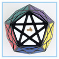 MF8 Starminx II Deep Cut/ Dino-Dodecahedron Cube Puzzle/ Cube Magic Toy for Learning &Education, Black