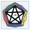 MF8 Starminx II Deep Cut/Dino-dodecaedro Cubo Rompecabezas/Cubo Mágico Juguete de Aprendizaje y Educación, negro
