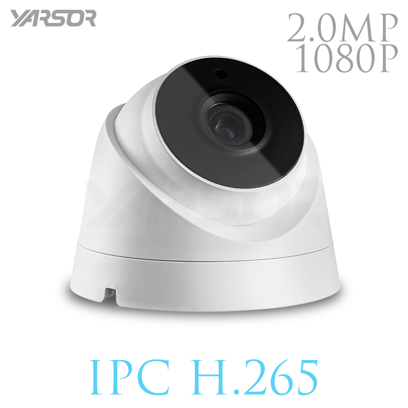 FL-IP320HR-TY  H.265 IP Camera 2MP ONVIF 1080p Outdoor Indoor Waterproof Night Vision Dome Camera IR-CUT Filter Home Security 4 in 1 ir high speed dome camera ahd tvi cvi cvbs 1080p output ir night vision 150m ptz dome camera with wiper