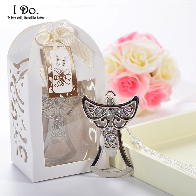 Free Shipping Angel Bottle Opener Wedding Favors And Gifts Wedding Gifts For Guests Wedding