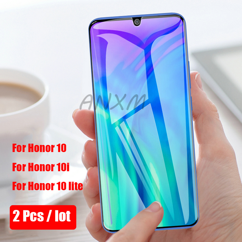 Image 2 - 2Pcs 9H Tempered Glass For Huawei Honor 10i 10 lite Screen Protector On Phone Protective for Honor 10 lite 10i Tempered Glass-in Phone Screen Protectors from Cellphones & Telecommunications on