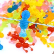 10pcs Squishy Soft Skeleton Antistress Decompression Sticky Eliminate skeleton Stress Squishies Squeeze Friet Toys WYQ