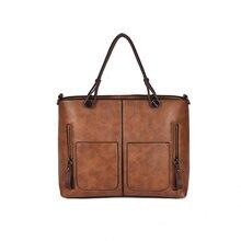 CAK Для женщин сумка комплект Топ-ручка большой Ёмкость Женский Классический Сумка моды дамы PU кожаная сумка через плечо 33-MM