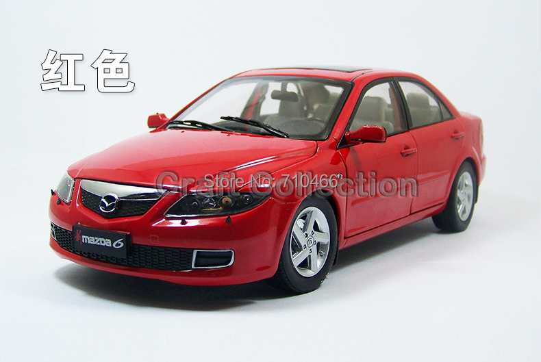New Red 1 18 Mazda 6 Alloy Scale Models Limited Edition Brinquedos Metail Toys