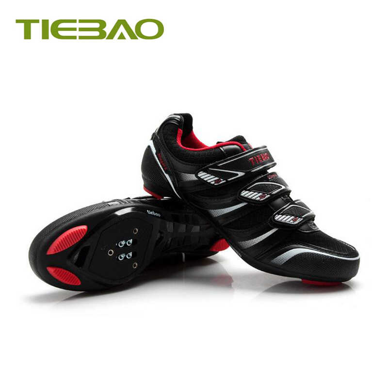 Tiebao Outdoor Cycling Shoes men women Road Bicycle Shoes pedals SPD-SL Self-locking Breathable road Cycling Bike Shoes Sneakers