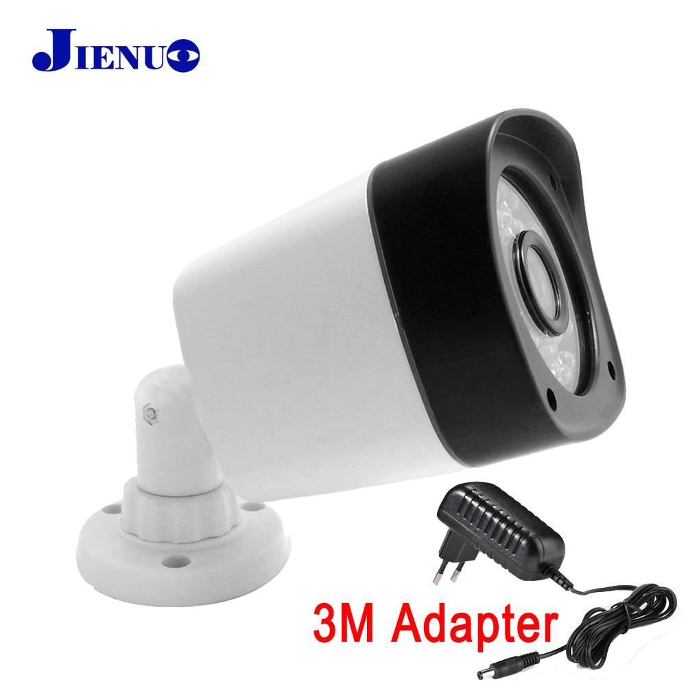 JIENU font b Outdoor b font Waterproof Bullet IP Camera 720P 960P 1080P ONVIF P2P home