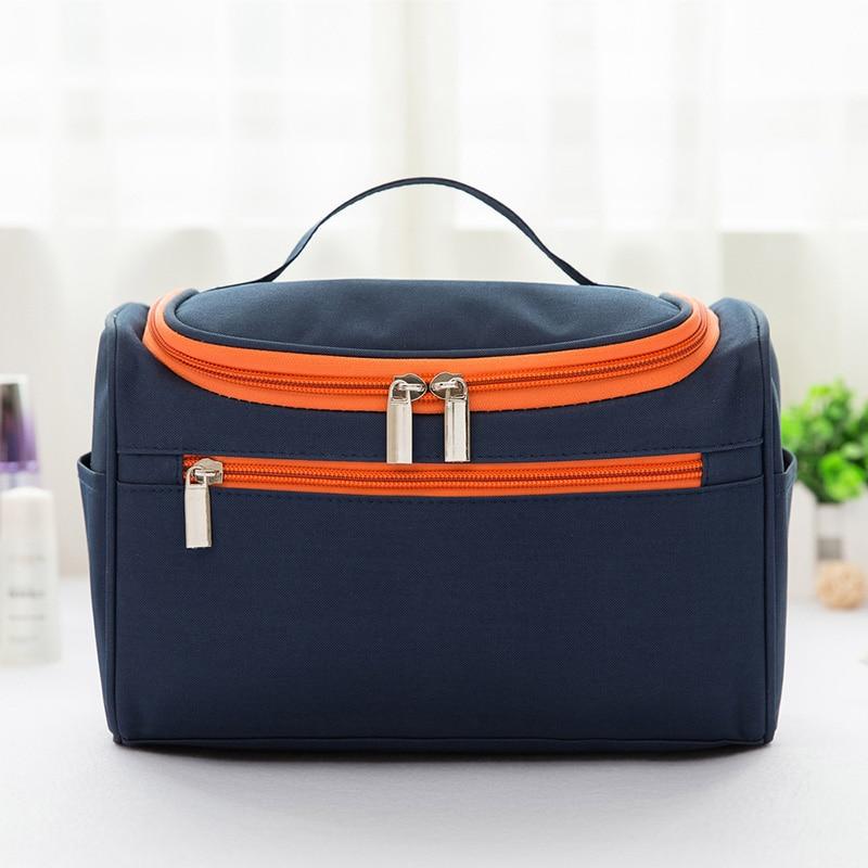 Trousse De Toilette Homme Transparent Cosmetic Bag Women And Men Large Makeup Bag Nylon Travel Cosmetic  Hanging Toiletry Bag