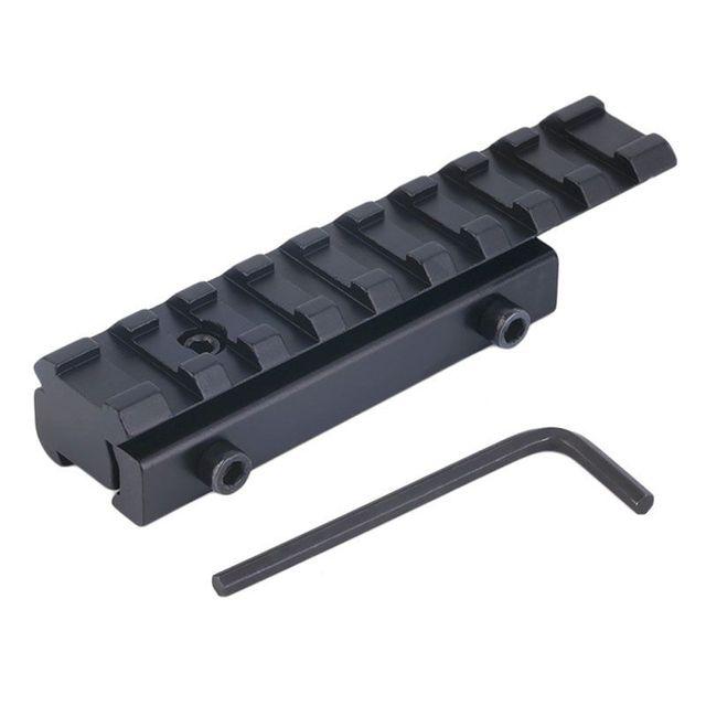11mm a 20mm Milano a Weaver montaje carril Base de adaptador de montaje alcance convertidor láser nuevo