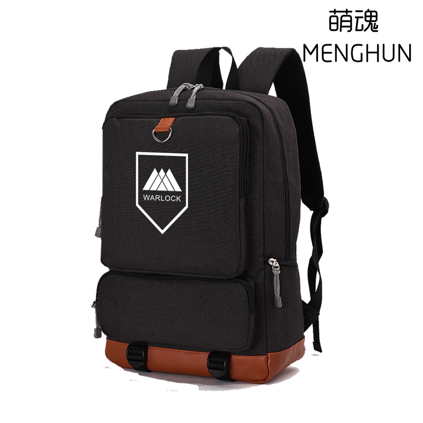 de6832218c72 NEW contrast color nylon big backpack gift bag for game fans DESTINY TITAN  HUNTER WARLOCK printing. sku  32832245733