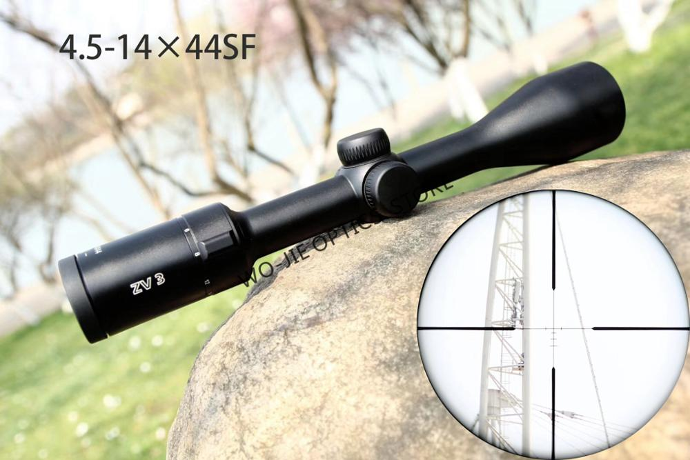 Minox ZV3 4.5-14x44 SF Side Parallax Adjustment Hunting Riflescopes Long Eye Relief Optical Sight For Outdoor Activities