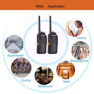Image 5 - Es armazém retevis rt27 walkie talkie 2 peças pmr rádio pmr446/frs 0.5 w/2 w vox usb carregamento portátil rádio bidirecional walkie talkies