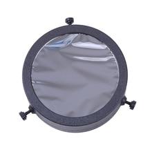 1PC Adjustable Baader AstroSolar Filter 60mm-90mm Caliber 5.0 Density Sun Solar Film for Astronomical Telescope Sun Observation цена и фото
