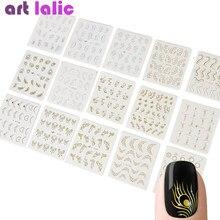 30 folhas adesivos de transferência de água para unhas, colar, transferência de água, borboleta, design de decalques, decoração para arte de unhas, deslizador de manicure