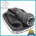 For VW Golf 4 MK4 1998 19999 2000 2001 2002 2003 2004 2005 2006 New 6 Speed Car Gear Shift Knob With Boot And Red Line 12mm Hole