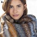 2016 женщин зимнее Шерстяное Одеяло Кашемир шарф Мыс шарфы женщин Шарф Дизайнер Мужской foulards femme Шали женские Шарфы