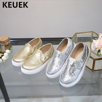 New Spring/Autumn Loafers Shoes Children Fashion sequins Casual Sports Flats Girls Baby Comfortable Sneakers Student Kids 04