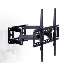 LCD TV rack retractable rotating bracket TV Mount Wall Mount Wall Stand Adjustable Mount Arm Match for 32″-70″ Max Assist 50kg