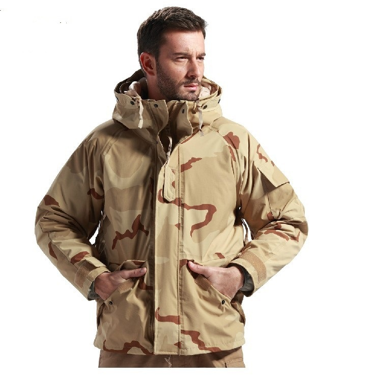 2014 Men's Classic U.S Army Field Tactical Winter Jacket Casual ...