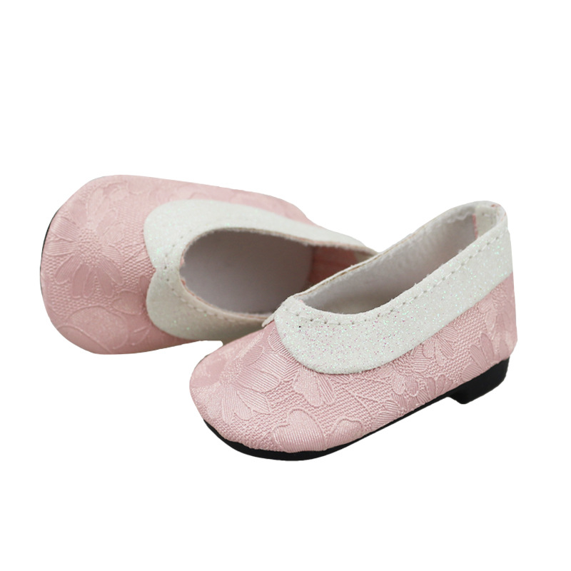 Accessories For Dolls Platform Shoes 7CM 4 Styles New Reborn Baby Doll Shoes Fit 43cm Zapf Baby Born Doll Toys For Children
