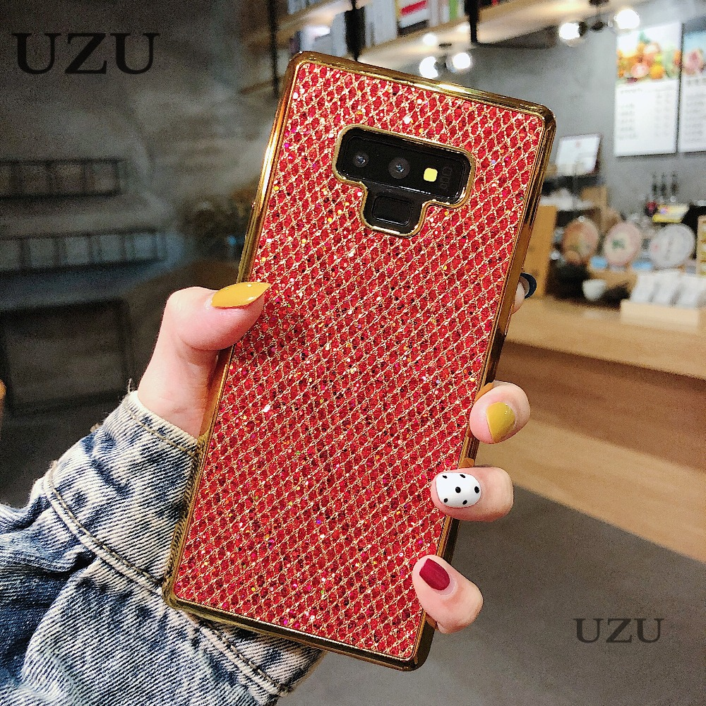 glitter phone cover for samsung galaxy a6 a8 j4 j6 plus 2018 a750 diamond glossy luxury diamond cover for samsung j8 a9 2018