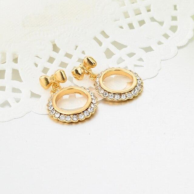 Купить chicvie дропшиппинг новинка золотые кристаллы этнические серьги