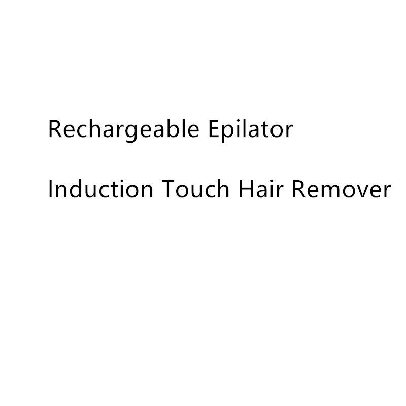 Wiederaufladbare Epilierer Induktion Touch Haar Entferner Erweiterte Instant & Schmerzen Freies Haar Entfernung Sensa-Licht Technologie Haar Entfernen
