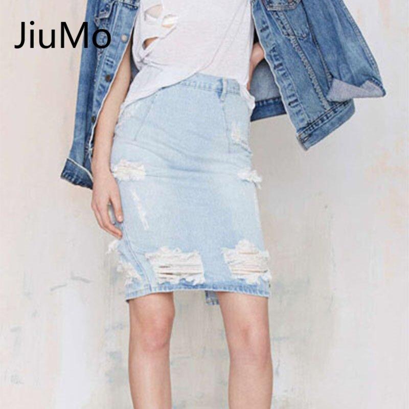 Online Get Cheap Pencil Denim Skirt -Aliexpress.com | Alibaba Group