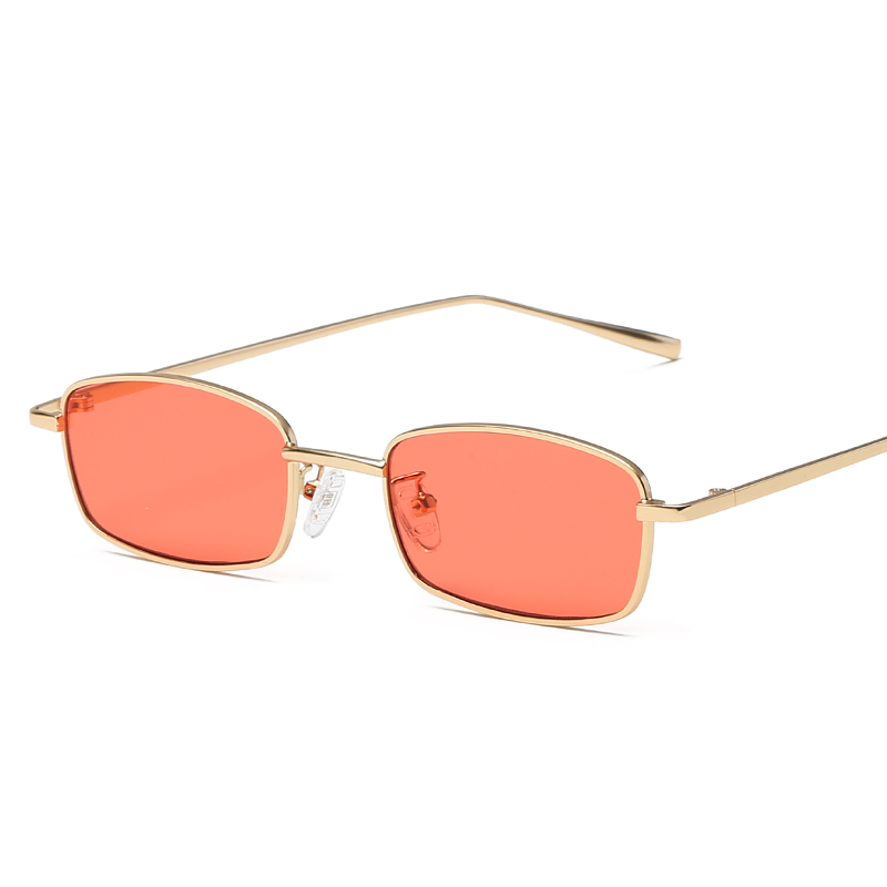 MISM Rihanna Ocean Retro Sunglasses Women Square Goggles Tinted Lens Metal Frame Gafas De Sol Mujer Nicki Minaj Eyeglasses Men goggles