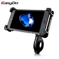 EasyDo Bike Phone Holder Bike Handlebar Mount Bracket GPS Stand Motorcycle Phone Holder Anti Slip Universal 360 Rotating
