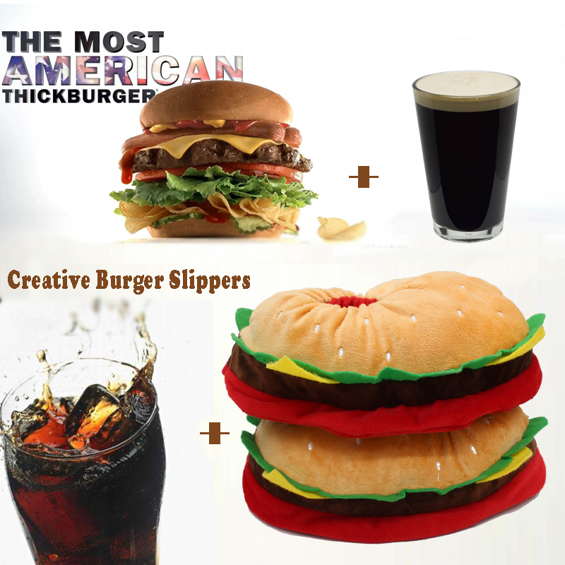 Burger Slippers 3