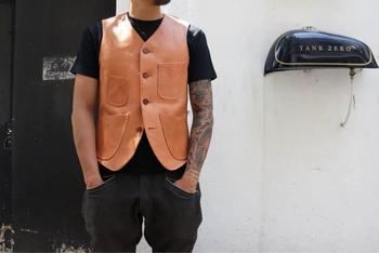Free shipping,100% Genuine leather jacket,mens Wax oil cowhide vest.brown vintage jackets,quality slim vest,style coat