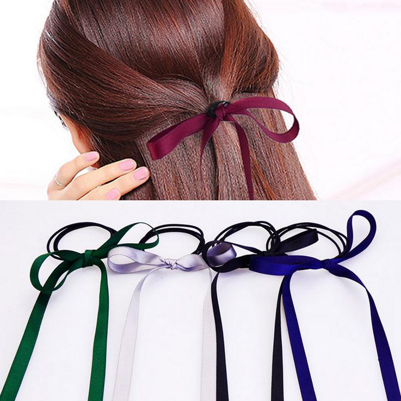 LOEEL New Elastic Hair Bands Hair Rope Velvet Bowknot Princess Hair Accessories for girls women new novelty princess hair accessories elsa anna elastic hair bands flower hair rope lovely headwear party gifts for girls