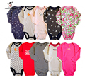 5 Piece/lot Autunm Baby Romper Newborn Jumpsuit Boy Girl Clothes Set Long Sleeve Vestidos Meninas Roupas Bebes Infant Underwear