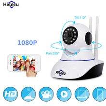 Hiseeu Camaras De Seguridad hd Camera 1080p Night Vision CCTV Camera Baby Monitor Mini Wifi Endoscope Pan Tilt Drop Shipping