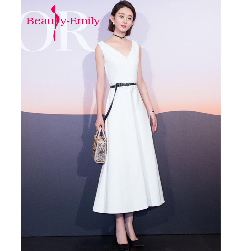 2018 vestidos de baile Stock evening dress A-line Prom dresses ...
