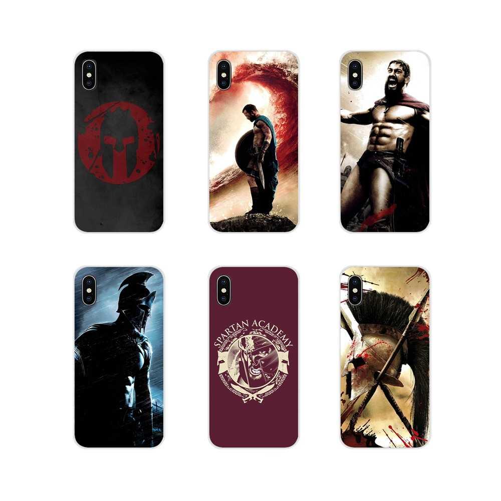 Samurai Warrior Helmet Tattoo Case Cover For Iphone 5 6 6s 7