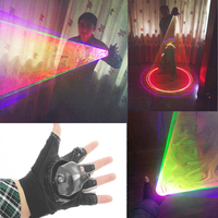 RGB Laser Whirlwind Multicolour Laser Vortex Laser Man stage supplies LED Laser Gloves Nightclub Performances