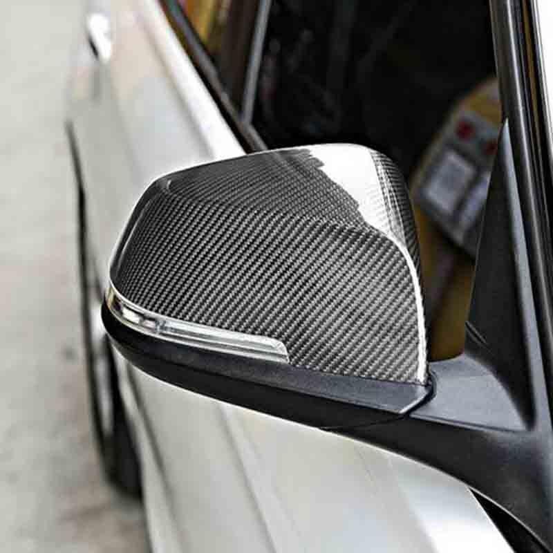 Matériau de protection de rétroviseur automatique en fibre de carbone pour BMW F30 F34 F31 F32 320i 316i 328i 420i 2012-2016