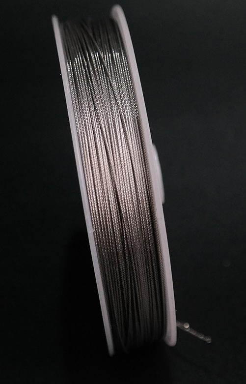 0.3--0.6MM 50--100M,1X7  304 stainless steel wire rope  softer fishing cable clothesline