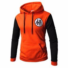 Anime Hoodies Dragon Ball Z Sweatshirts Goku Long Sleeve Outerwear