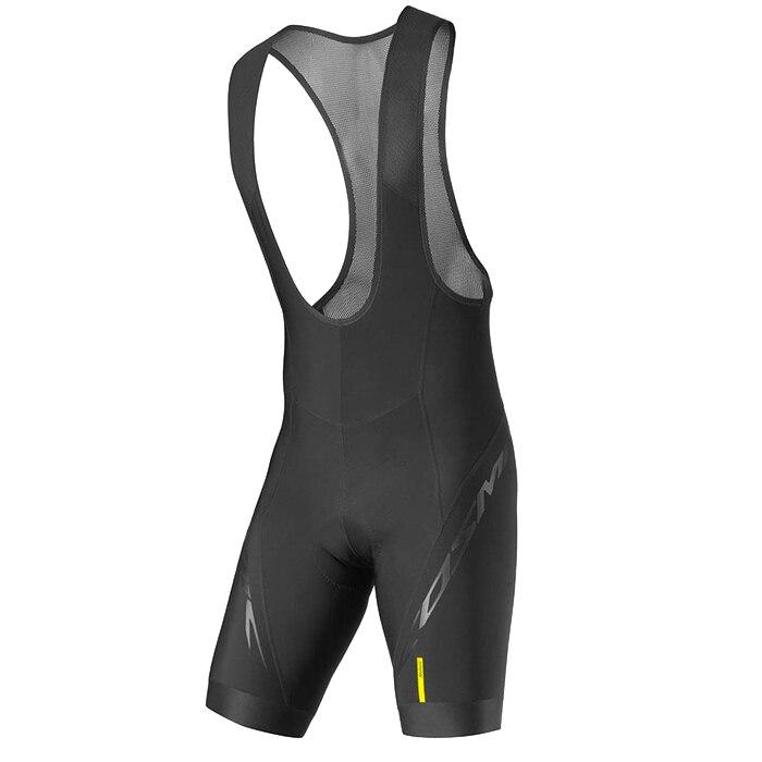 Pro Team Mavic 2018 New Cycling 9D GEL Pad Bib Shorts MTB Quick Dry Breathable Padded Sport Bike Wear Bicycle Lycra
