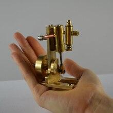 Single-cylinder double-acting swing steam engine model все цены